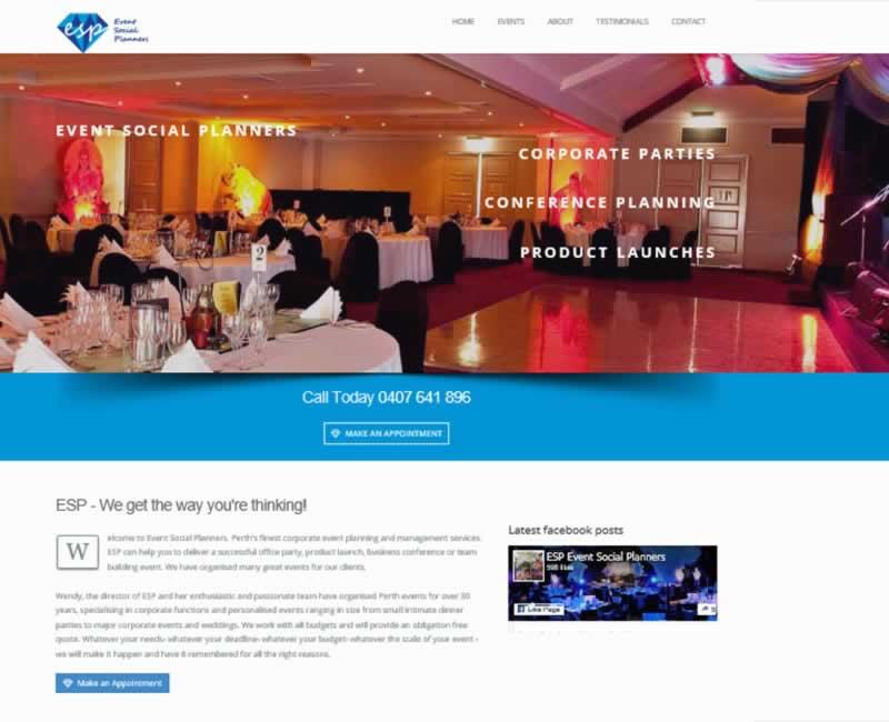 Business Website Design Perth Portfolio